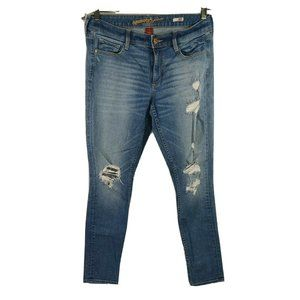 Arizona Super Skinny Ripped Destroyed Jeans Sz 11